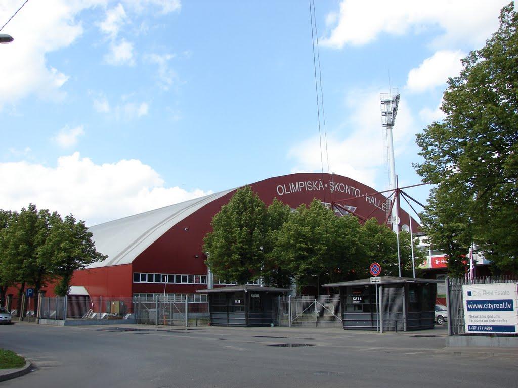 Skonto arena Riga