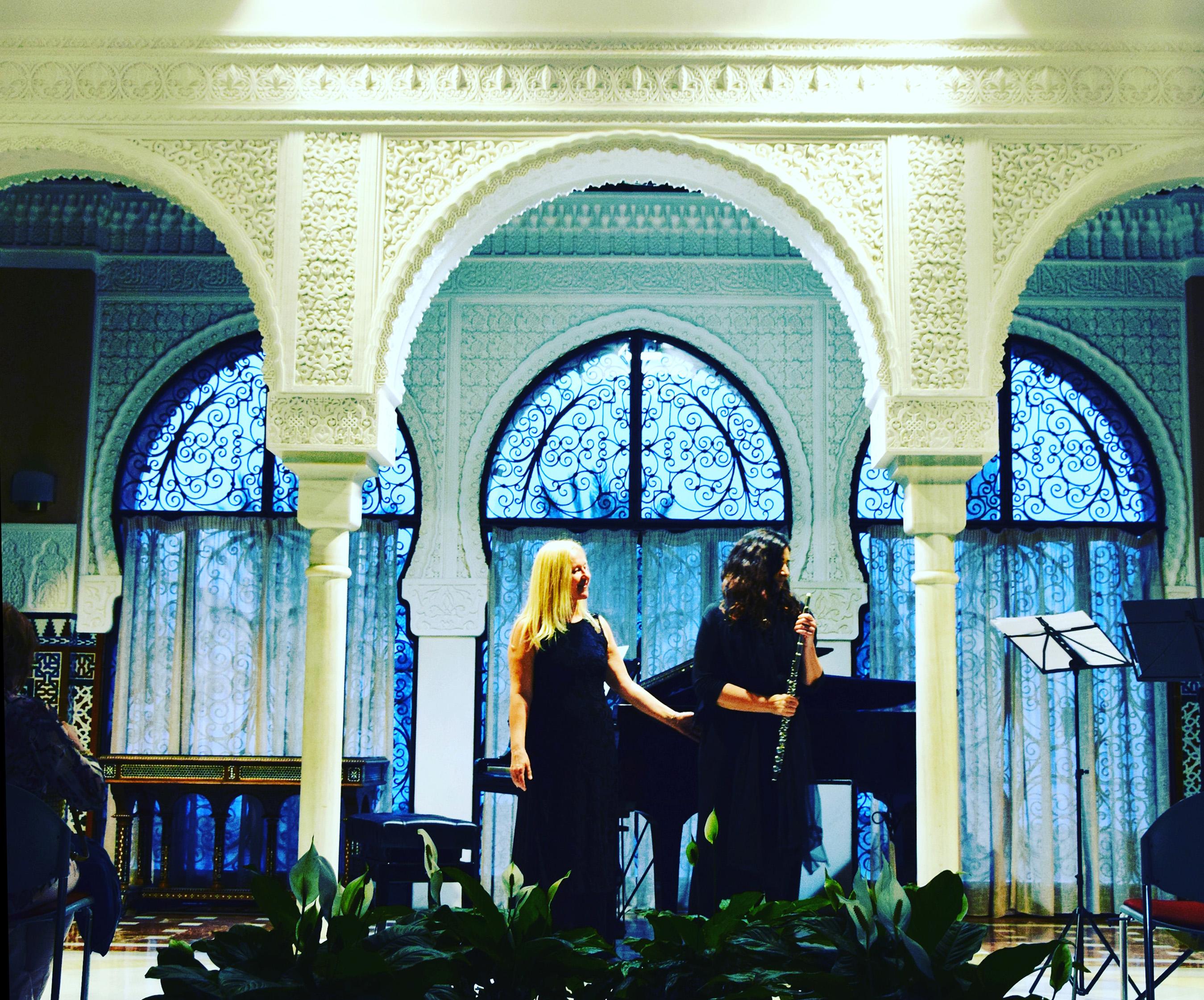 Gordana-Komerički_klavir-in-Jurka-Zoroja_flavta-koncert-program_-španski-avtorji-za-flavto-in-klavir-Malaga-Španija-2018-2