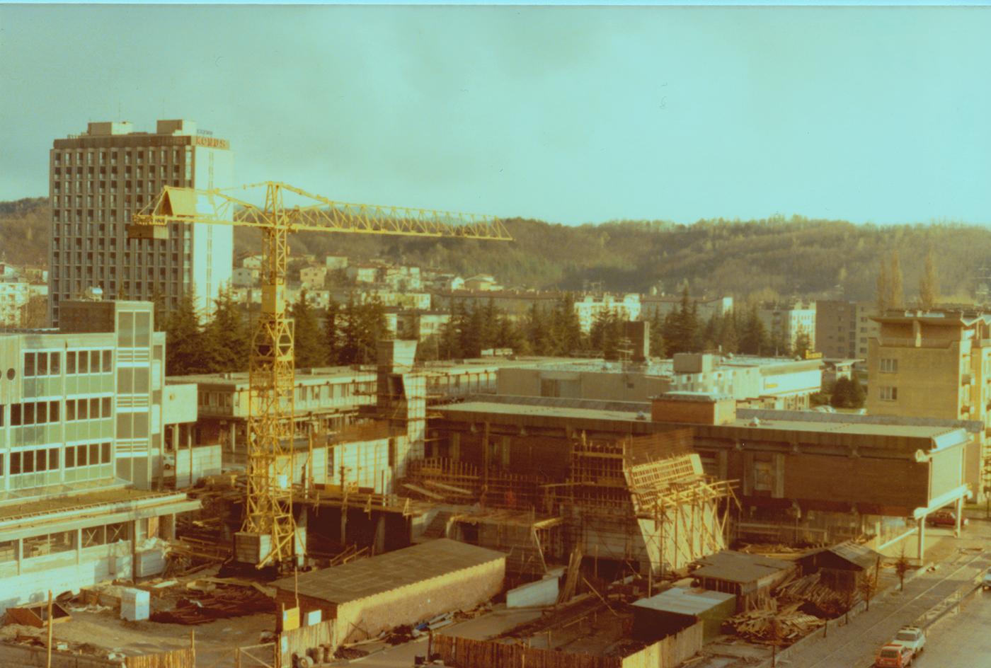 Gradnja_KDNG_1978-1980_foto_MILOVAN VALIČ
